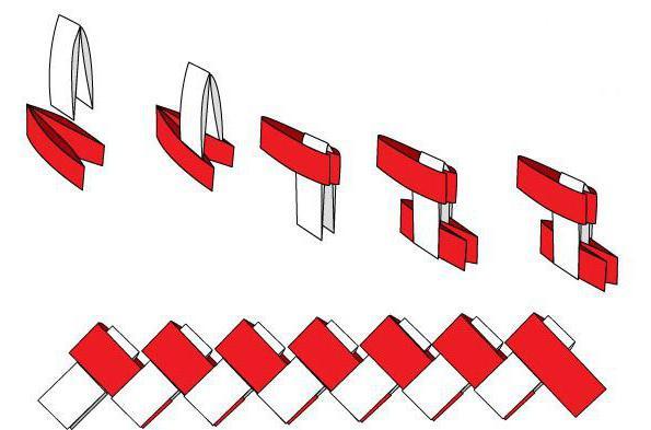 Как сделать бумажный браслет своими руками