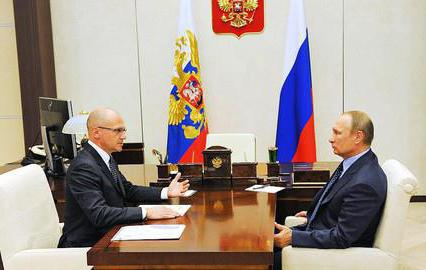 Sergey Kiriyenko new appointment