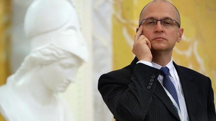 Sergey Kiriyenko Presidential Administration