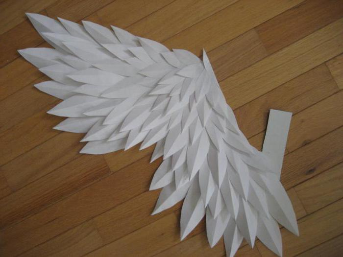 Крылья и бумаги своими руками