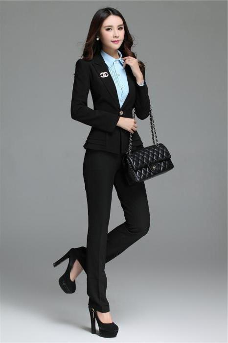 классические зауженные брюки женские