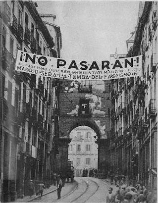 "What does ""but pasaran"" mean?"