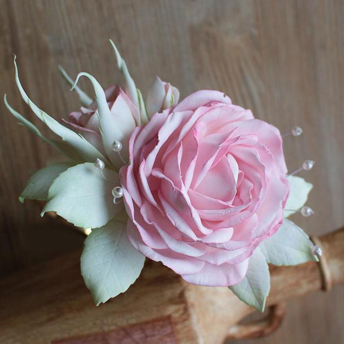 розы из фоамирана шаблоны