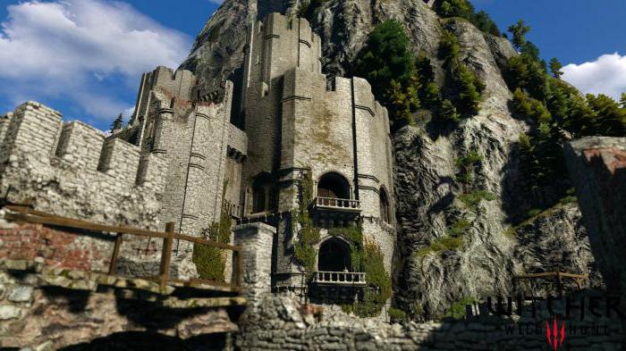 Witcher 3 how to get to caer morhen passage