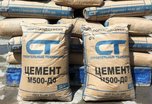 cement m500 in bags
