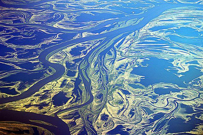 Какая река России самая полноводная
