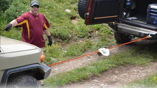 steel towing cable