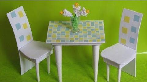 мебель для кукол стол