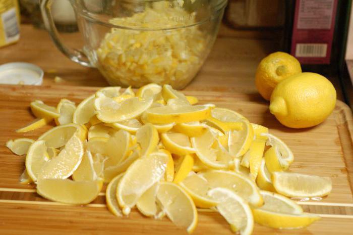 Как приготовить варения из лимона