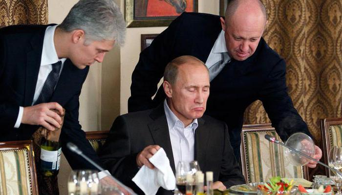 Putin's cook Yevgeny Prigogine