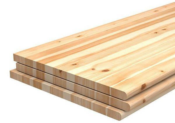 glued wooden shields