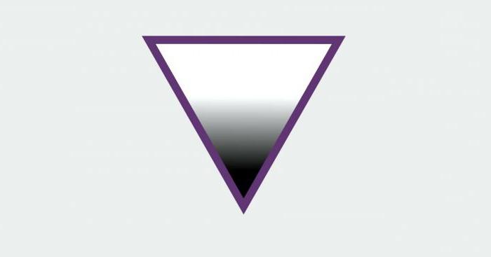 Знак асексуальности