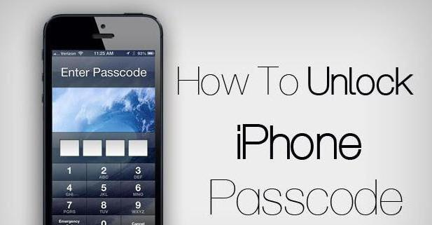 unlock iphone 5 s if it is locked