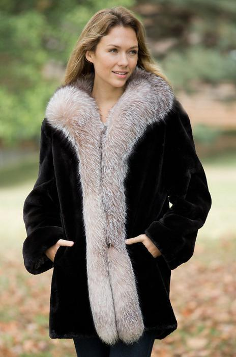 How to choose a fur coat from shorn beaver