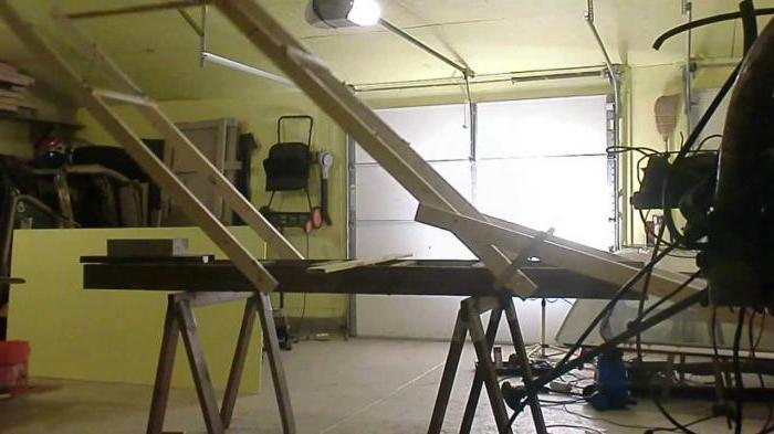 lift strut for drywall