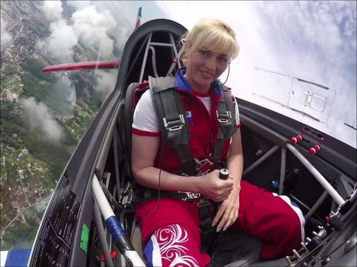 Женщина-пилот Капанина Светлана: биография, деятельность и интересные факты