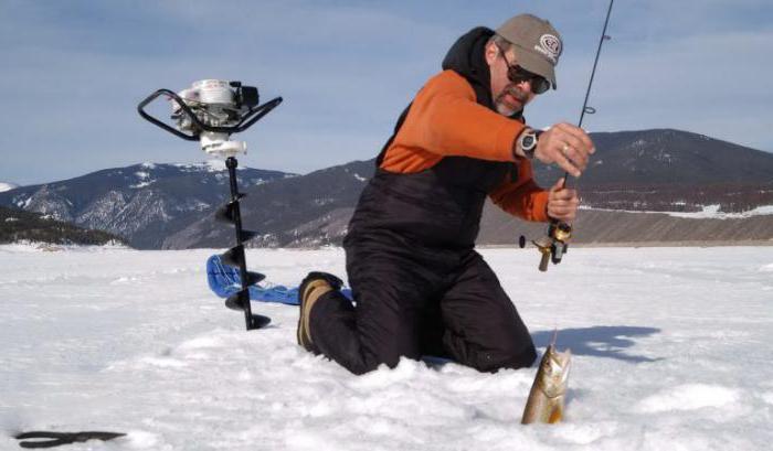 рыболовные товары для зимней рыбалки
