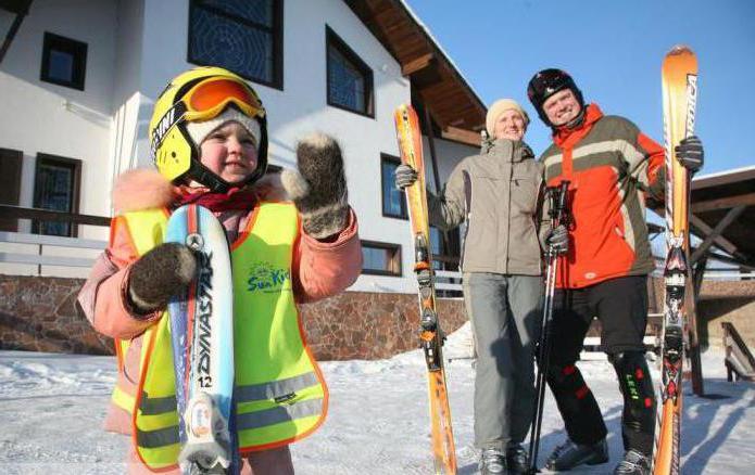 Puzhalova mountain ski resort Nizhny Novgorod