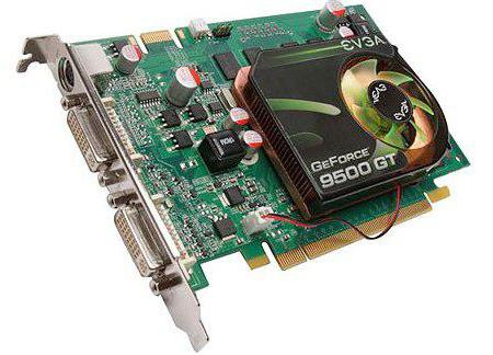 видеокарта geforce 9500 gt