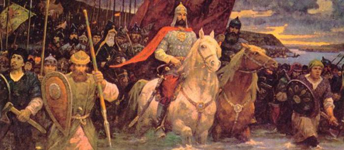 policy of the first princes of Russia