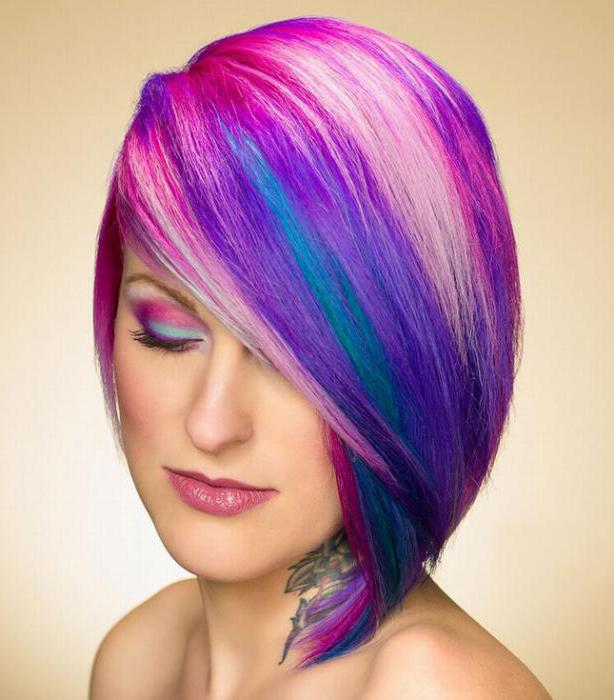 how to make coloring for short hair