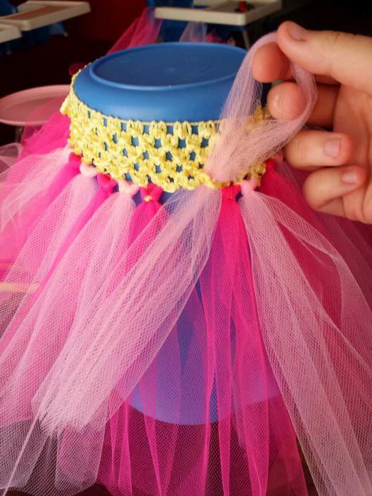Простая юбка -пачка из фатина: расчет материала и пошив