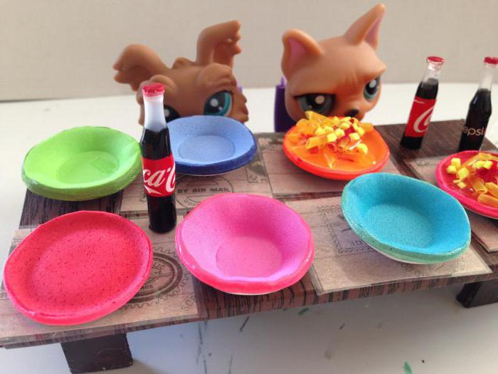 how to make dishes for dolls do it yourself