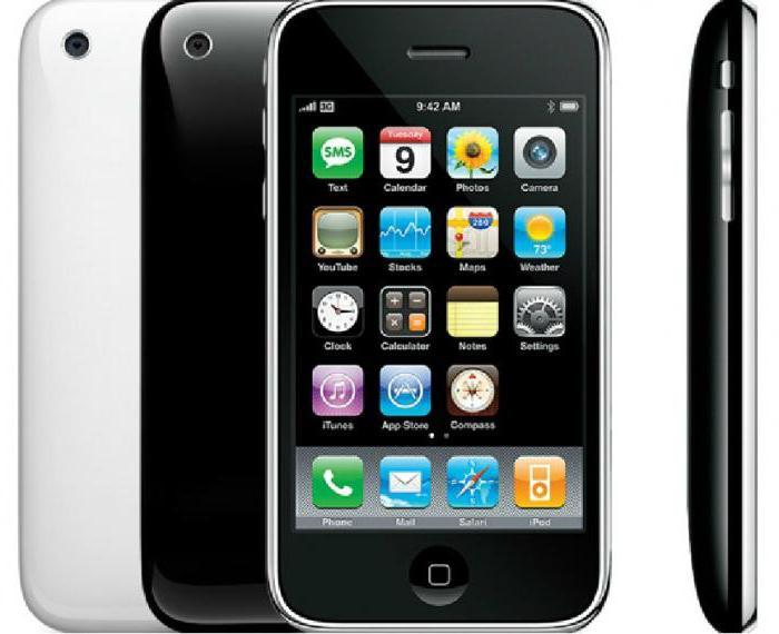 3gs iphone характеристики