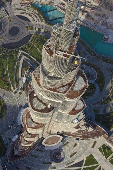 Burj Khalifa height