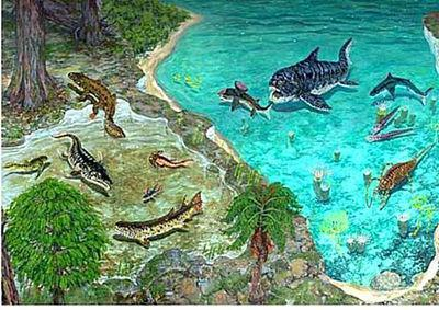 Devonian period - characteristic
