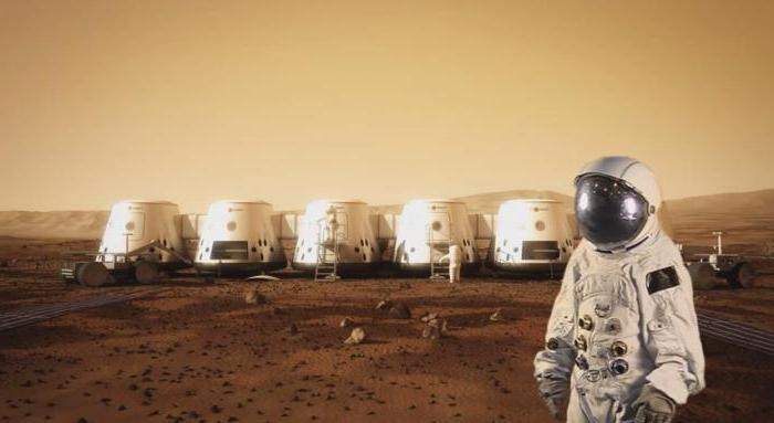 Colonization of Mars. Project State