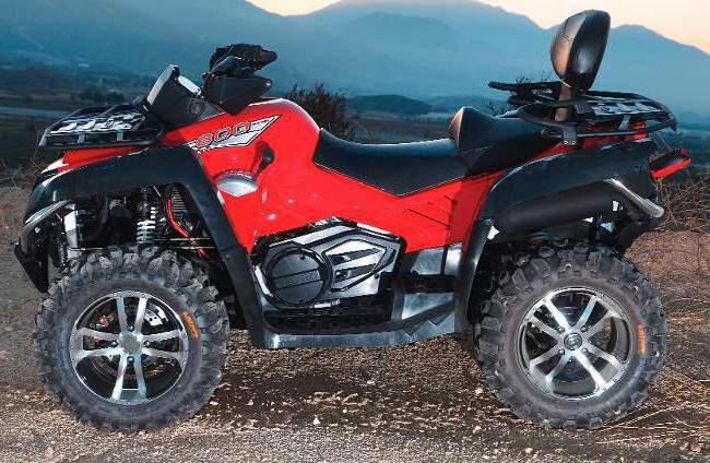 quad bike cf moto
