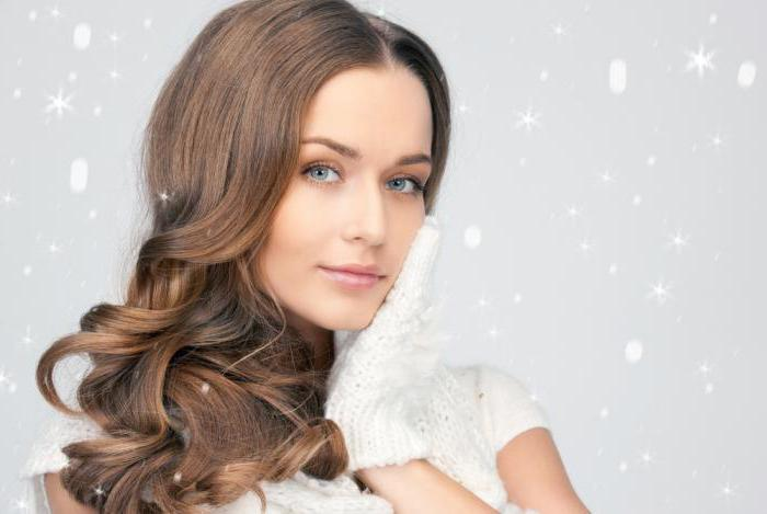 proper hair care in winter