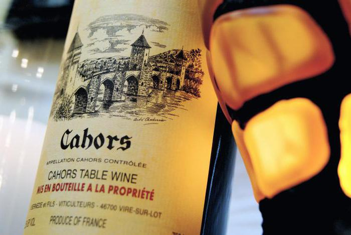 Cahors sweet wine