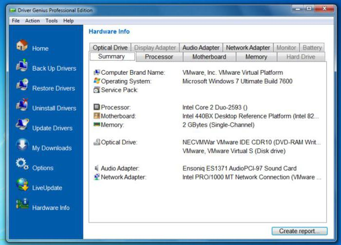 software rating for finding and installing drivers