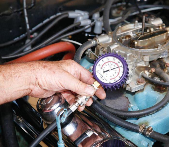 Проверить компрессию двигателя своими руками 12