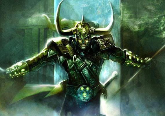 Scandinavian god Loki
