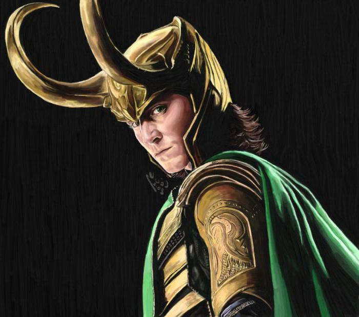 Loki the god of fire