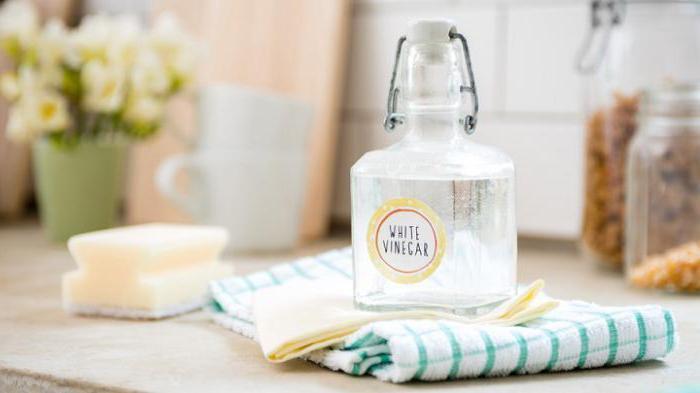 what white vinegar looks like