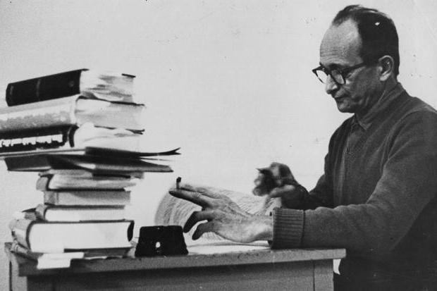 eichmann adolf last word