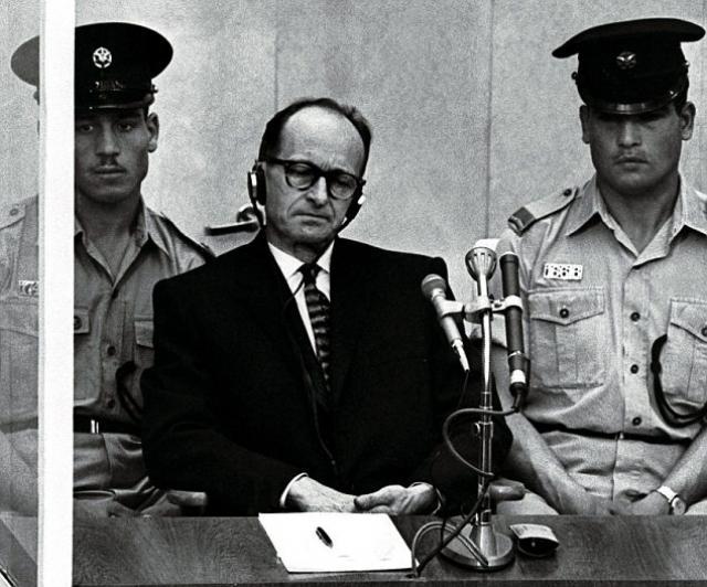 Adolf Eichmann photo