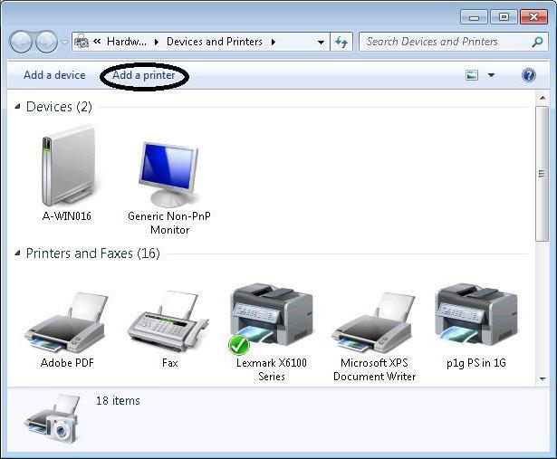 Как сделать принтеру usb сетевым