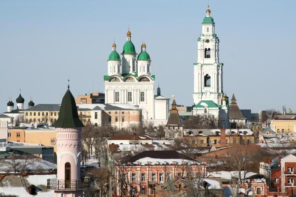 Astrakhan Assumption Cathedral history