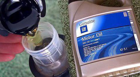 oil gm 5w30
