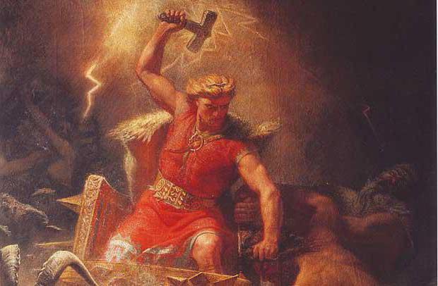 Молот Тора мифология
