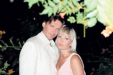 The wife of actor Yuri Baturin