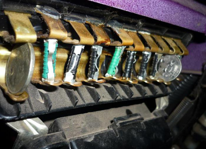 VAZ 2106 which fuses what is responsible for