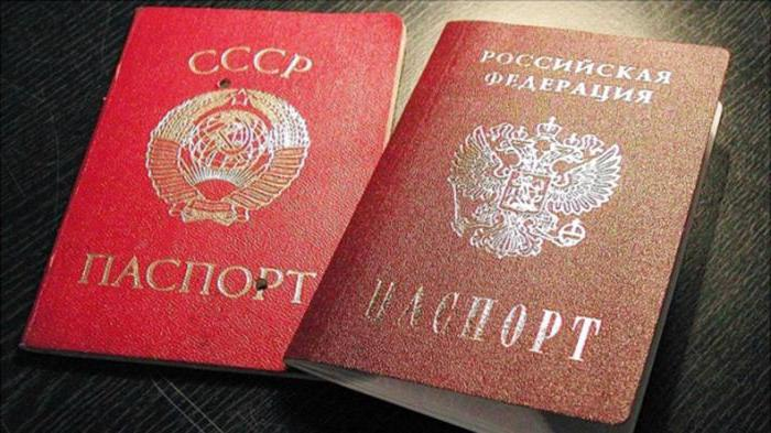list of documents identifying a citizen of the Russian Federation law