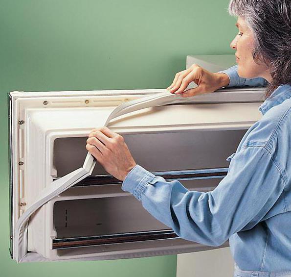 Как самим заменить резинку в холодильнике