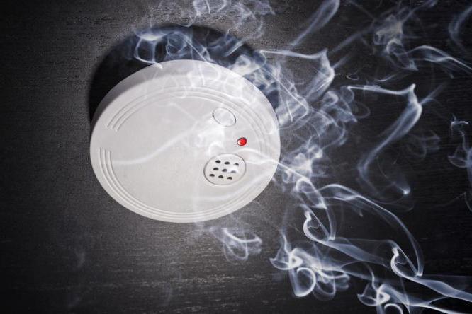 smoke detector 34a